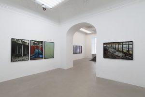 Exhibition view: #katharinagruzei #bodiesofwork #charimgalerie