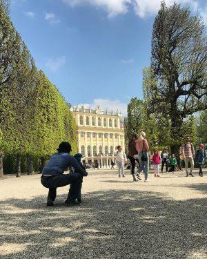 Schönbrunn kind of a day. #igersvienna #igersaustria #schönbrunn #palace