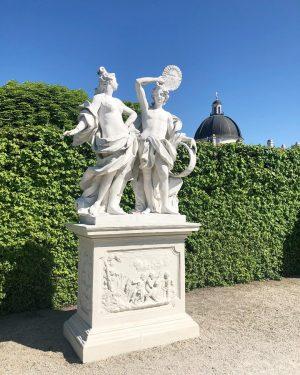 Il Belvedere, dettagli dei suoi meravigliosi giardini 💚