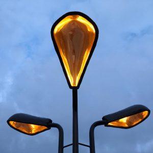 Leuchte DaMore für den Skulpturenpark am @mqwien in Zusammenarbeit mit @lautre_mo #DaMore #mqamore ...