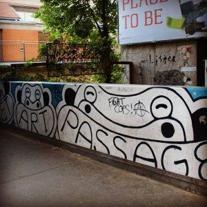 Street Art Passage, Viena