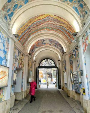 Walking and exploring #vienna #museumsquartier #museumsquartierwien #alley #secretpassage #downtherabbithole #art #exploring #beingatourist #walkingwalkingwalking ...