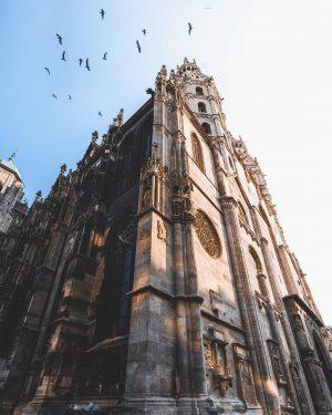 St. Stephen's Cathedral. ⛪️ . . . #stephansdom #cathedral #church #vienna #austria #viennagram #viennascene #viennalove #wonderlustvienna #vienna_go...