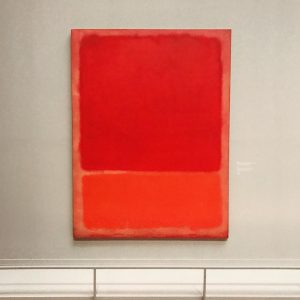 Chronically #exhibition about the #abstract #painter @markrothkoart @kunsthistorischesmuseumvienna - pictured his untitled #artwork ...