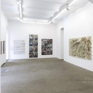 Hermann Nitsch Julian Schnabel, Exhibition view, Galerie Elisabeth & Klaus Thoman, Vienna, 2019⁣ ...