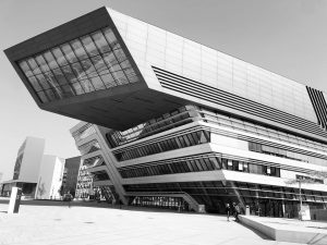 I'm not sure if this is a spaceship, #modernartmuseum or #university building The #architecture is phenomenon, exception...