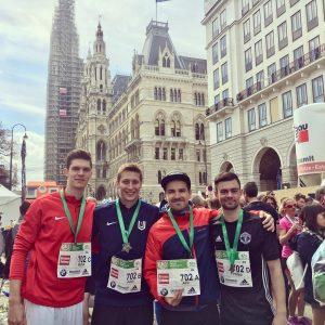 """Vienna City Staffelmarathon 2019 Team """"Coiffeurbedarf""""."""
