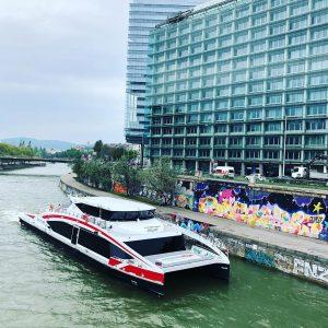 Speed boat to Bratislava 👋 #journey