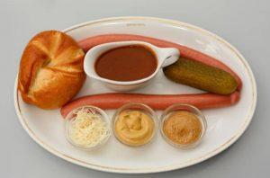 Semmel + Frankfurter + Gurkerl + Kren + Gulaschsaft + Senf =  MMMMmmhhh😋!  Have you...