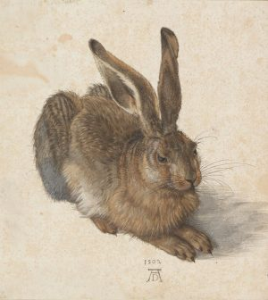 Happy Easter, everyone! 🥚🐰 Enjoy Albrecht Dürer's YOUNG HARE, the most famous as ...