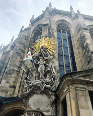 Some Churches around Vienna. St Stephen's; Mariahilferstrasse; Albertina.