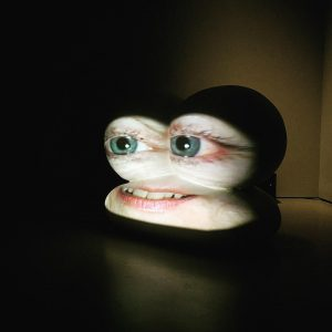 "Tony Oursler in ""Talking Heads"" at Vienna's Belvedere."