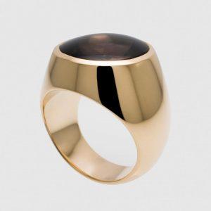 Smoke quartz #signet #pimp #highjewelry #jewelry #jewellery #ring #gold #fine #artisan #luxury #custom #art #blingbling #fashion #hautejewelry...