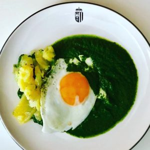Typical austrian food at green thursday. #spinach #eggs #potetos #eastertime #holyweek #instafood