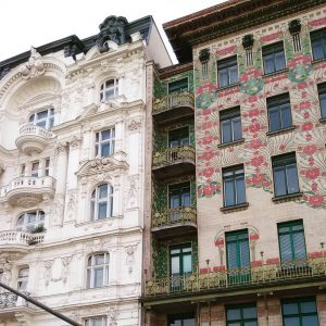 Façades 😍💐🍀 #facades #architecturelovers #architecture #urbanlandscape #citylandscape #vienna #artnouveau #secession #vienna1900 #ottowagner