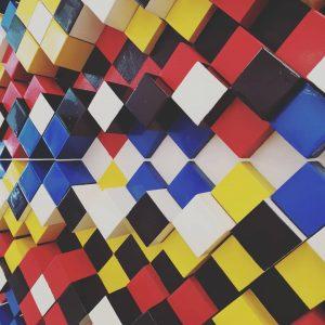 #richardkriesche #seriesIVno3 #constructivism #geometry #cubes #mumok #mumokmuseum #vienna #wien #modernart