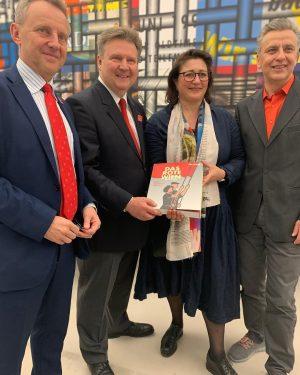 Gemeinsam mit dem Direktor des MUSA, Dr. @mattibunzl & Kulturstadträtin @vienna_backstage besuchte ich die Eröffnung der Ausstellung...