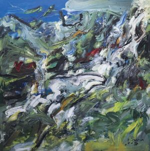 Sharing a masterpiece from our newest exhibition: 'Nepal Art Now' As this is ...