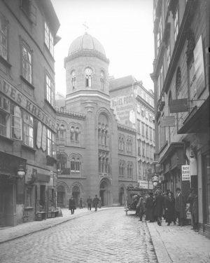 """Der Straßenname """"Fleischmarkt"""" lässt sich bis ins 13. Jahrhundert nachweisen und bezieht sich ..."""
