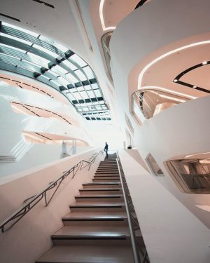 Going with the flow by @zahahadidarchitects
