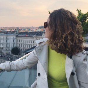 #citytrip #vienna #rooftop #sunset #austria #springfeelings #sunshine #birthdaygirl Hotel Grand Ferdinand Vienna