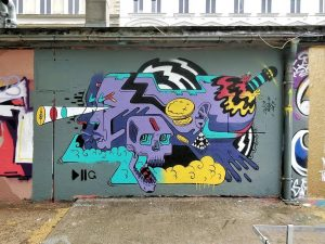 Yppenplatz, 1160 Artist: @bennapache www.viennamurals.at Book / Online Map / Blog #mural #murals ...