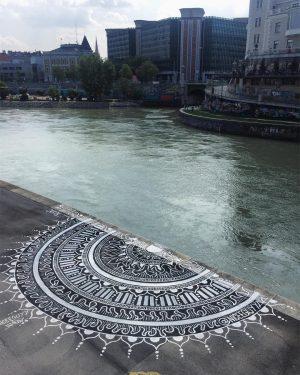 New pattern #igersvienna #donaukanal #donaukanalgraffiti