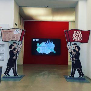 """Ausstellung """"Das rote wien 1919-1935"""". #wienmuseum"""