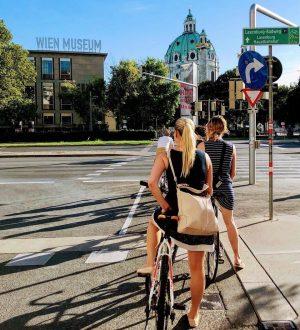 Endlich wieder sonnig! 😊☀️🚲 #fahrradwien #igersvienna #wienliebe #biketowork #lovecycling Vienna