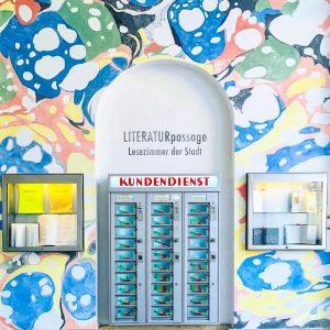 Lis tes ratures, pas sage. #vacances #vienne #wien #passagecoloré #vieillemachinemoderne #typography #vadrouille