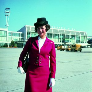 In 1969 the uniforms of our flight attendants changed into our signature red. ...