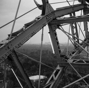 Vienna Giant Ferris Wheel . . . . . #fuji #x100f #fujix100 #bw ...