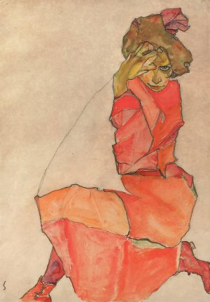Welcome to @daily_paintings Egon Schiele week! Which is your favorite painting by the ...