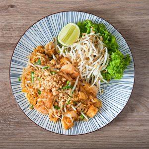 Offizielle Schlechtwetter-Therapie /// Pad Thai mit Tofu, Huhn oder Garnele /// täglich ab ...