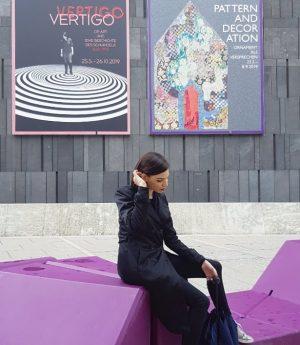🌫 #mumok #vienna #bécs #museum #arts #design #pattern #decoration #chill #viennamood