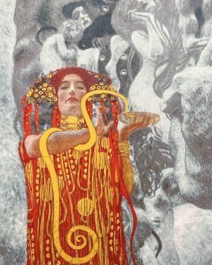 Hygieia - Klimt, 1894