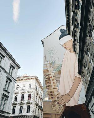 Streetart in 1030 Wien. 😍
