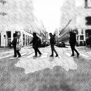 The amazing string quartet @cuarteto_lignum Show this afternoon 4pm at Haus der Musik. Free admission!
