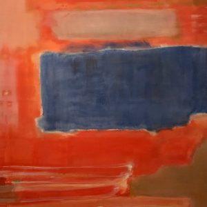 At a distance of 18 inches (his suggested viewing position), you're reminded of how much Rothko loved...