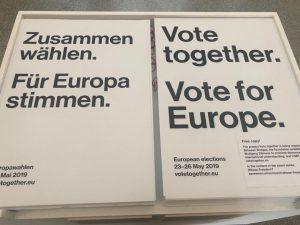 #betweenbridges #wolfgangtillmans #viennasuccession #vienna #votetogether #voteforeurope