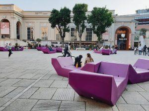 Субботний вечер а Вене. Место встречи - музейный квартал. . . . . ...