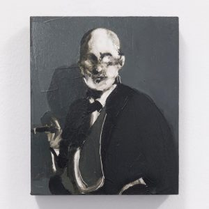 'Sigismund Schlomo Freud' by George Stamatakis as part of Curved Arrows at Kunstraum am Schauplatz, Vienna •...