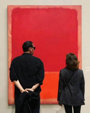 #rothko takes over #Vienna @kunsthistorischesmuseumvienna #fuckyeah #markrothko .... and #egonschiele #gustavklimt come in for the kill @leopold_museum...