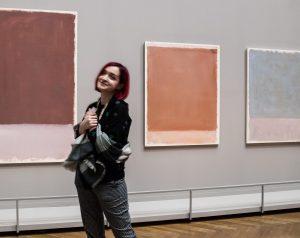 🖍 Когда мы ехали в Вену, я просто хотела сходить в Kunsthistorischesmuseum, потому что там хорошо. Но...