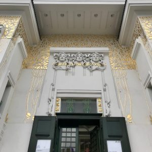 The Vienna Secession always worth a visit...