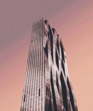Das Modernste, das Wien zu bieten hat. Eh ganz schön, oder? Den rosa Himmel meinen wir 😛...