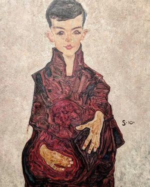 Egon Schiele The Reiner Boy