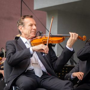 #VIOLIN Concertmaster Jan Pospichal - Member of the orchestra since 1980 ___ ▶️More about the musicians: wienersymphoniker.at...