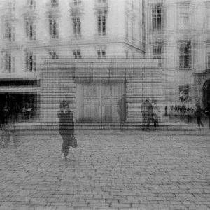 memorial .... #judeplatz #holocaustmemorial #innercity #jewishquarter #jewishmuseum #wienmalanders #vienna #ersterbezirk #wien #österreich #believeinfilm #analog #analogue #multiexposure exposure...