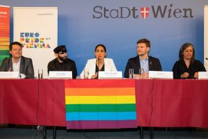 press-con: all eyes on Vienna in the upcoming two weeks of June! EuroPride Vienna advocates Human Rights,...